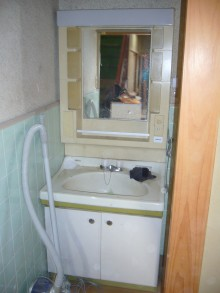 中谷邸洗面所