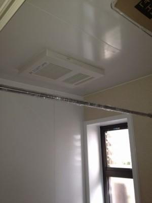 浴室乾燥換気暖房機