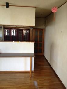 キッチン垂れ壁