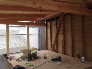 増築後屋根部分